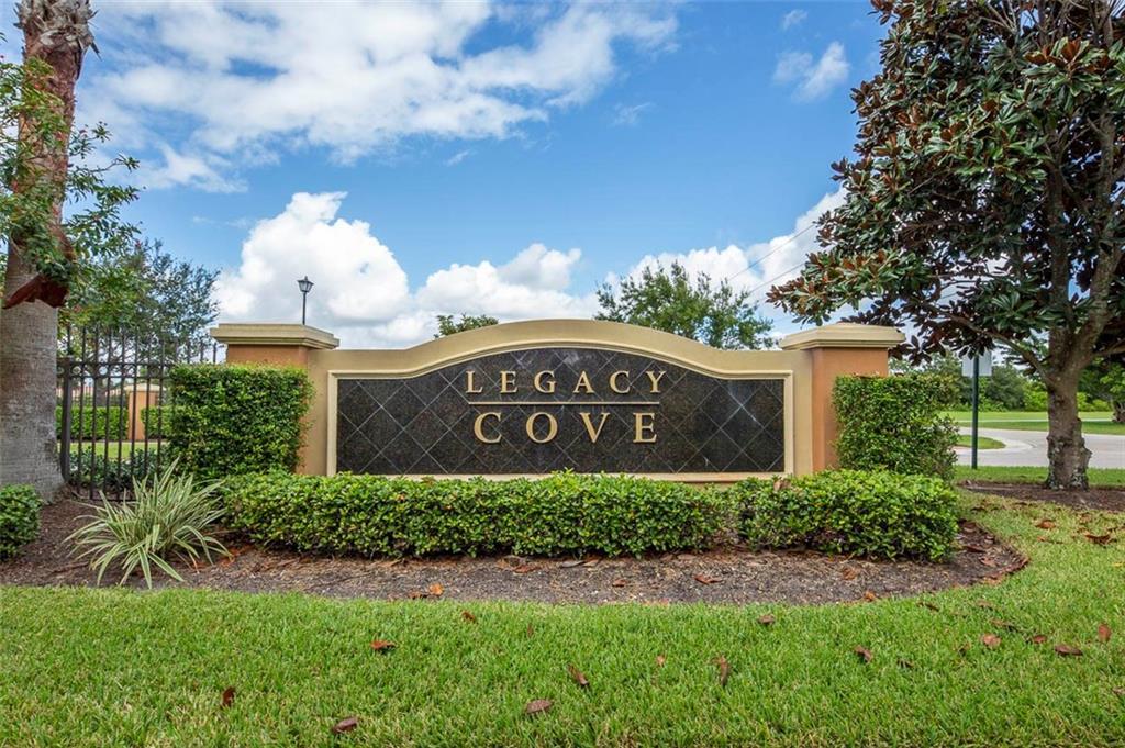 Legacy Cove, Cove Isle PUD
