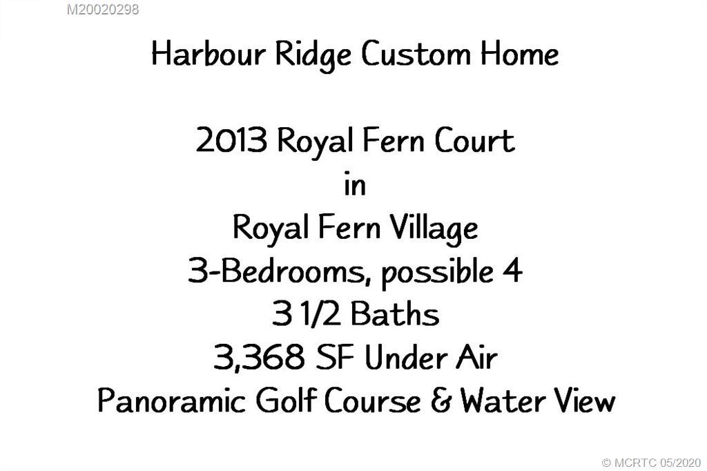2013 NW Royal Fern, Palm City, FL, 34990