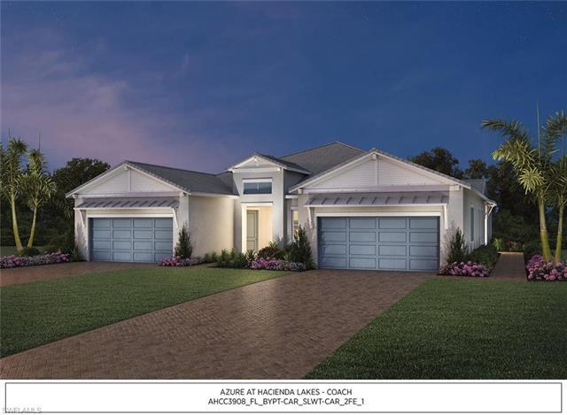 New listing For Sale in AZURE AT HACIENDA LAKES Naples FL