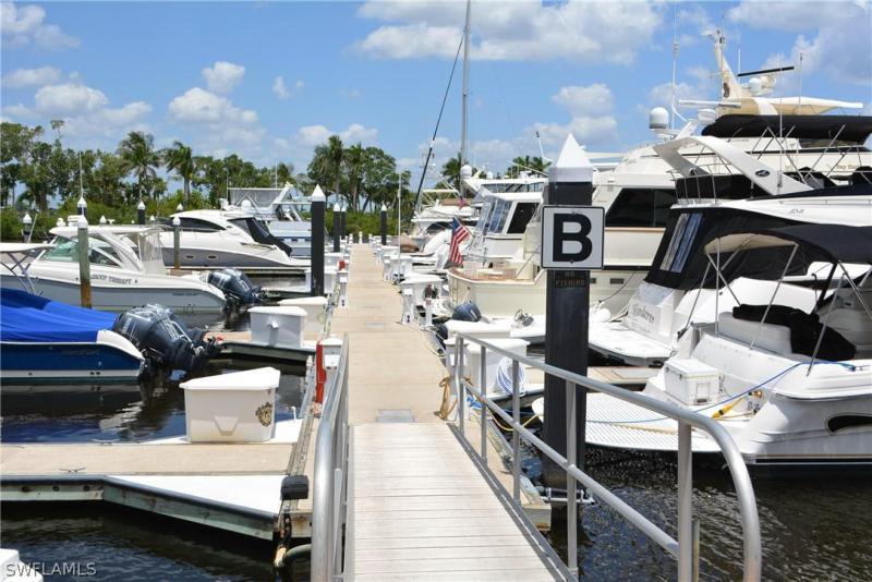 38 Ft. Boat Slip at Gulf Harbour B-23, Fort Myers, FL, 33908