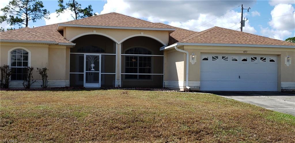 423 E Poinsettia,  Lehigh Acres, FL