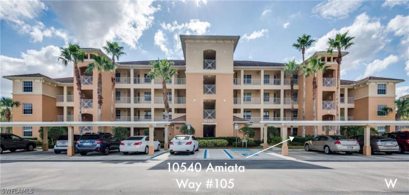 Image of 10540 Amiata WAY  #105 Fort Myers FL 33913 located in the community of PELICAN PRESERVE