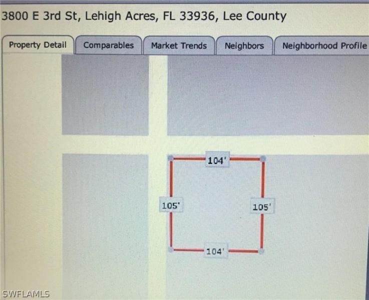 3800 E 3rd, Lehigh Acres, FL, 33936