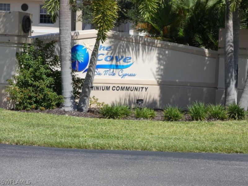 Image of 8358 Bernwood Cove LOOP  #704 Fort Myers FL 33966 located in the community of THE COVE AT SIX MILE