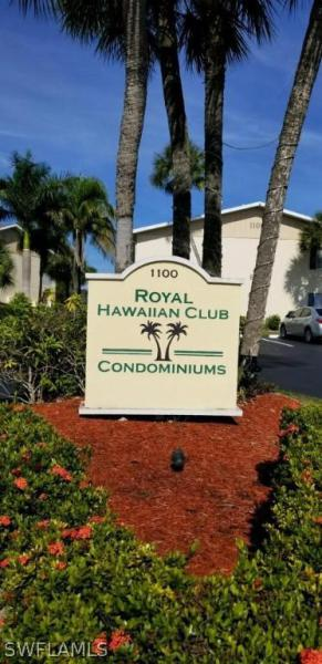 Image of 1100 Pondella RD  #714 Cape Coral FL 33909 located in the community of ROYAL HAWAIIAN CLUB