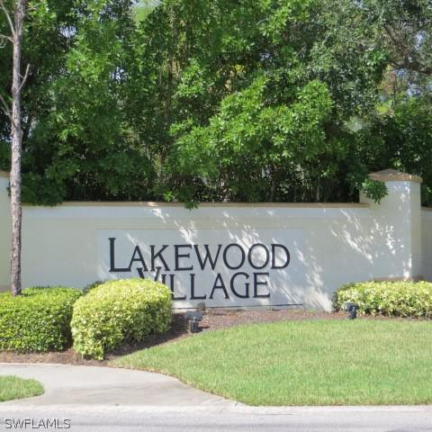 Image of 8350 Village Edge CIR  #4 Fort Myers FL 33919 located in the community of LAKEWOOD VILLAGE