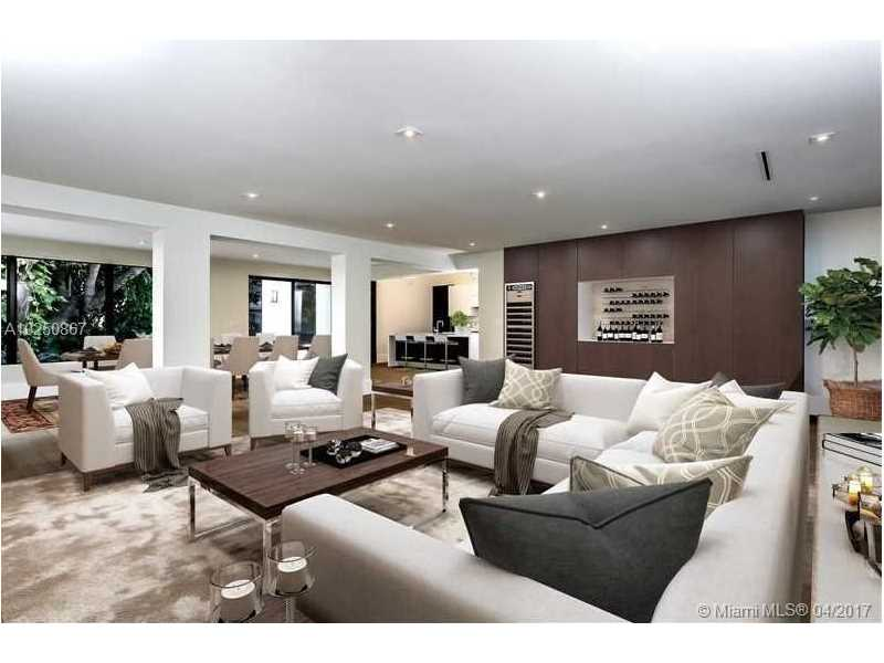 For Sale at  510   Tivoli Ave Coral Gables  FL 33143 - Coral Gables Biscayne Bay - 4 bedroom 3 bath A10250867_2