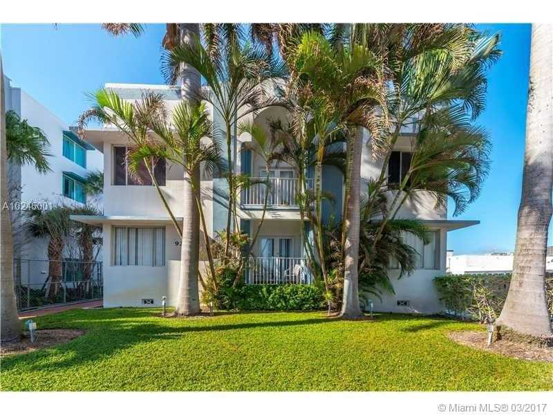 Real Estate For Rent 9248   Collins Av #202 Surfside FL 33154 - Sunset Condo