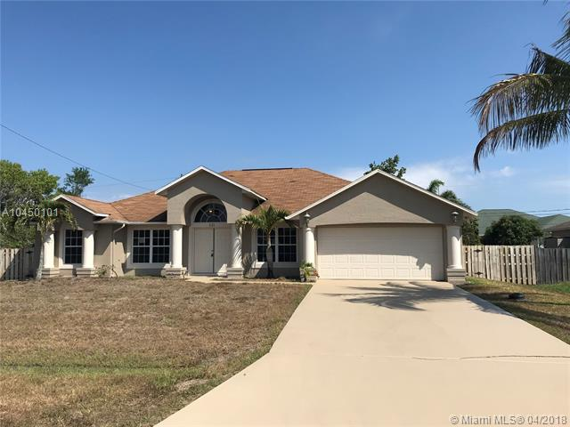 PORT ST LUCIE SECTION  22 REAL ESTATE