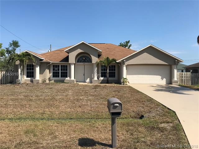 PORT ST LUCIE SECTION  22 HOMES