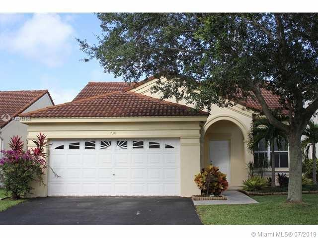 730  Falling Water Rd,  Weston, FL