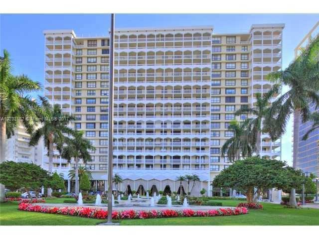 Real Estate For Rent 9801   Collins Ave #17W Bal Harbour  FL 33154 - Balmoral Condo