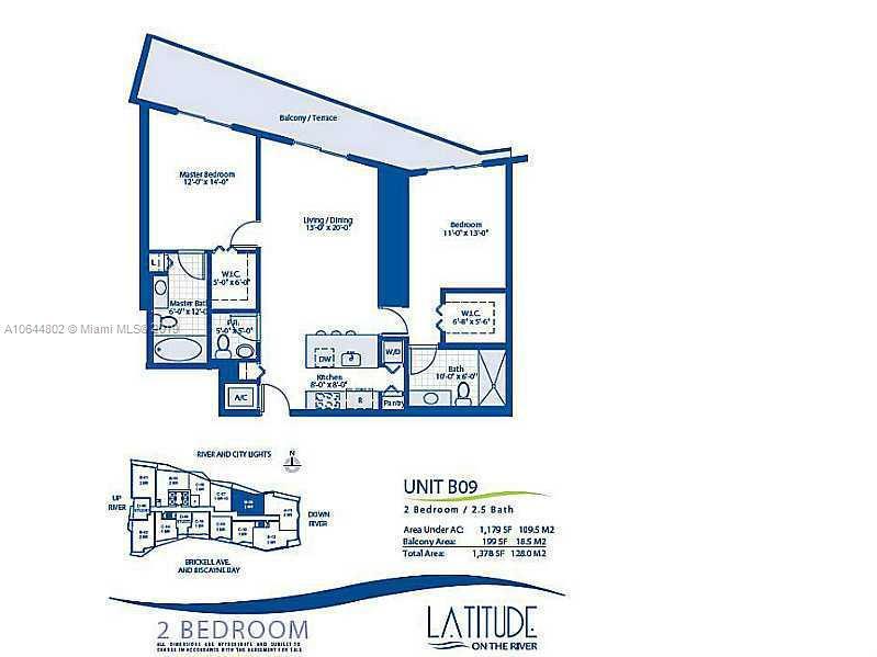 185 SW 7th St  Unit 2912, Miami, FL 33130-2980