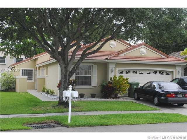 604 183rd Way, Pembroke Pines FL 33029-3695