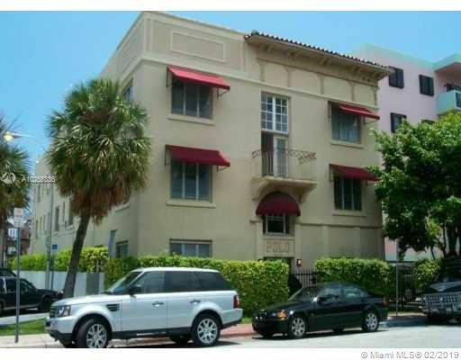 For Sale 1619   Jefferson Ave #2 Miami Beach  FL 33139 - Polo Condominium