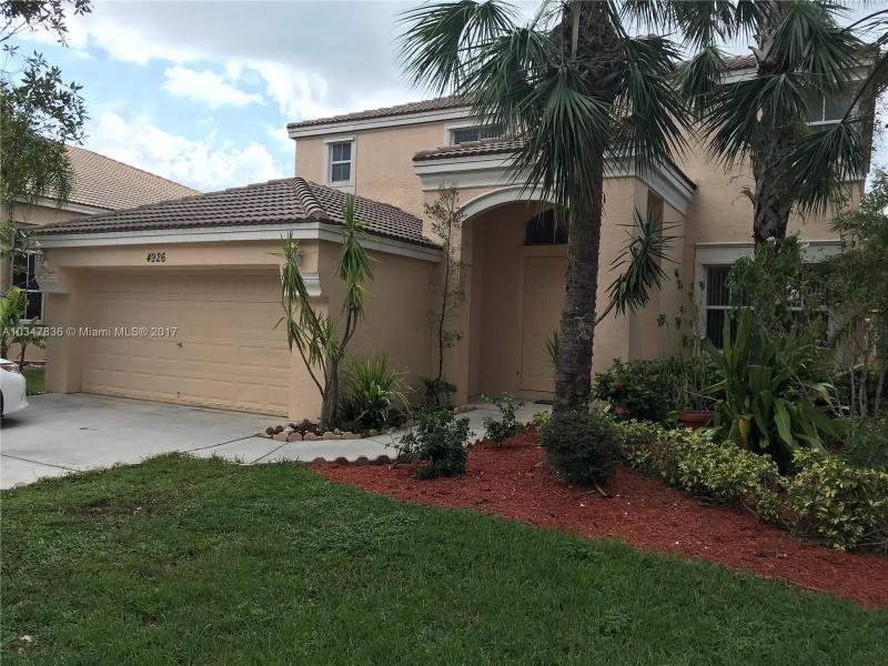 4926 SW 163 Avenue,  Miramar, FL