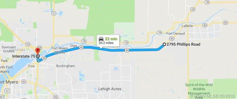 2795 Phillips Road, LABELLE, FL, 33935