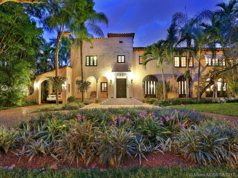 For Sale 1115 N Greenway Dr Coral Gables  FL 33134 - Coral Gables Sec C