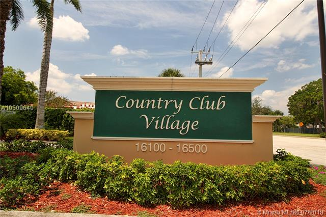 COUNTRY CLUB VILLAGE COUNTRY C