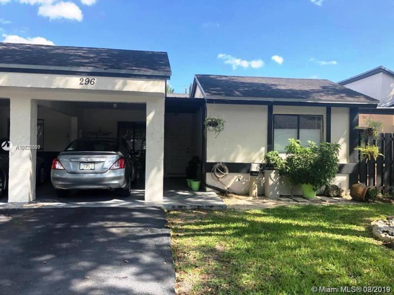 296  Fairway Cir,  Weston, FL