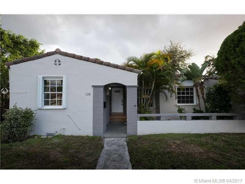 For Sale 118 NW 103Rd St Miami Shores  FL 33150 - Gold Crest A Sub