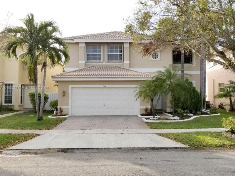 3346 SW 173rd Way,  Miramar, FL