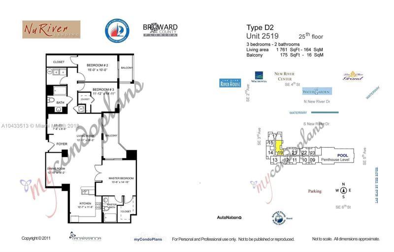 511 SE 5th Ave  Unit 2519 Fort Lauderdale, FL 33301-2983 MLS#A10433513 Image 13