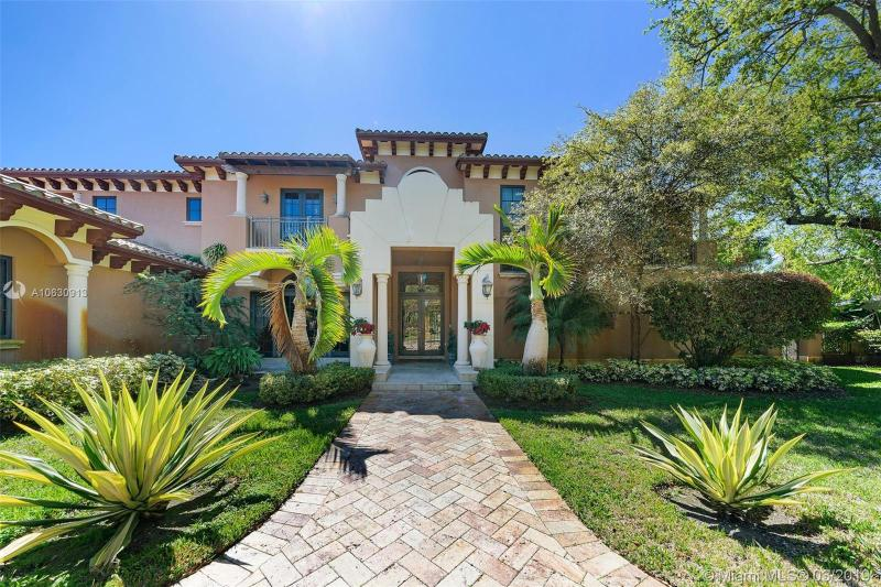 One of Coral Gables 7 Bedroom Homes for Sale at 6740 SW 133 Ter