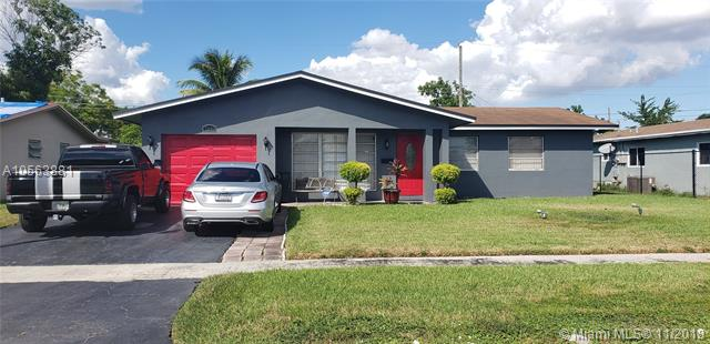 5841  NW 15TH CT  Sunrise, FL 33313- MLS#A10563881 Image 1