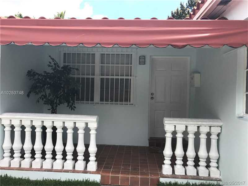 Real Estate For Rent 833   Tangier St #  Coral Gables  FL 33134 - Tamiami Place Plan 1