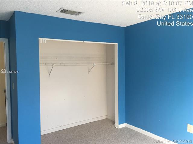 22201 SW 103rd Ave  Cutler Bay, FL 33190-1421 MLS#A10616915 Image 13