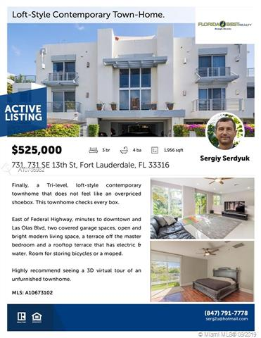 731 SE 13th St, Fort Lauderdale, FL, 33316