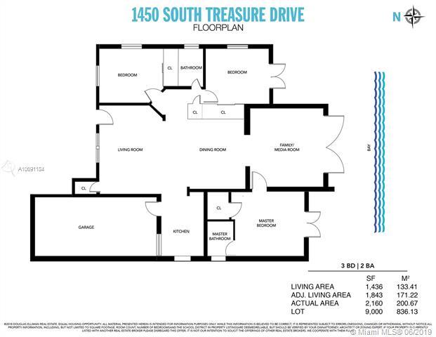 1450 S Treasure Dr, North Bay Village, FL, 33141