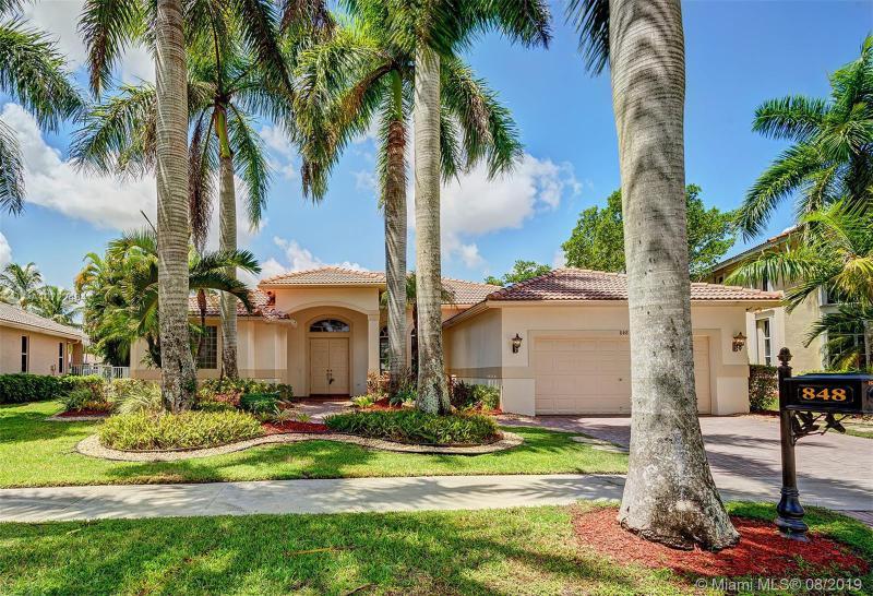848  Marina Drive,  Weston, FL