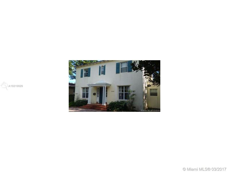 1644 Bayshore Dr  S, Coconut Grove Two Story