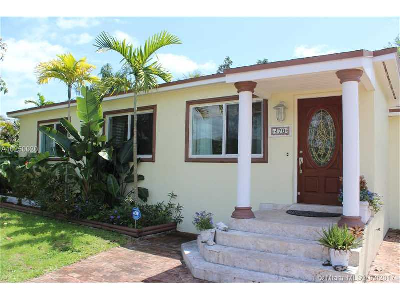 For Sale at  470 NE 128Th St North Miami  FL 33161 - Griffing Biscayne Park Es - 3 bedroom 1 bath A10250020_2
