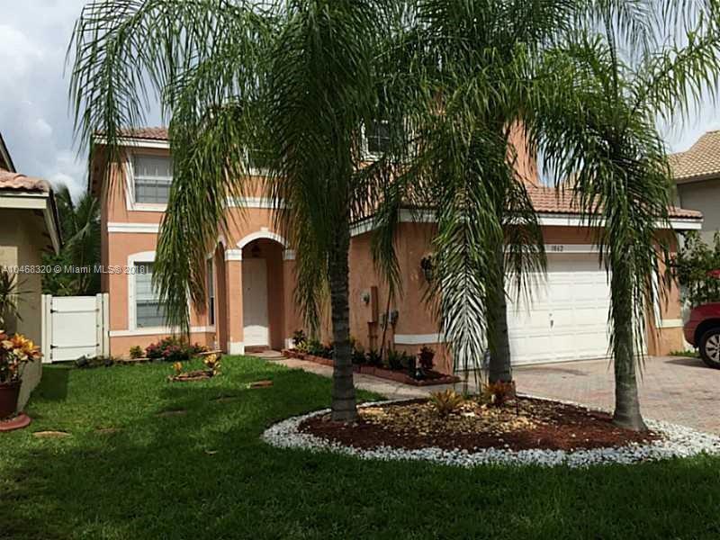 1862 SW 148th Way,  Miramar, FL