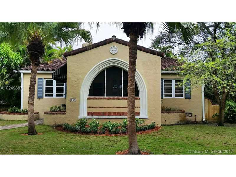 For Sale 547   Navarre Ave Coral Gables  FL 33134 - Coral Gables Sec B