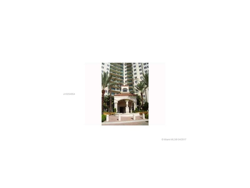 Real Estate For Rent 19900 E Country Club Dr #412 Aventura  FL 33180 - Turnberry Village So Towe