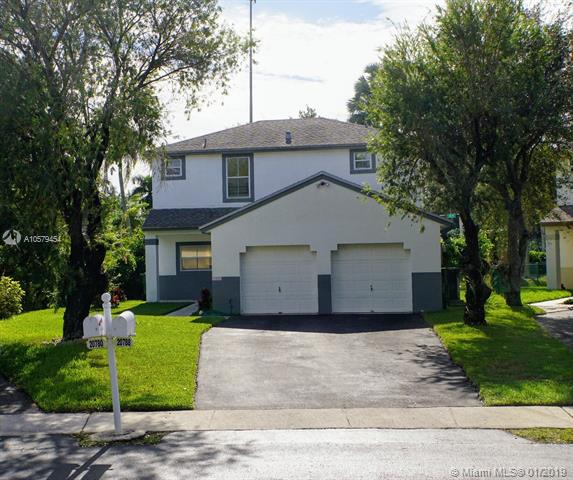 18871 NW 22nd St , Pembroke Pines, FL 33029-3842