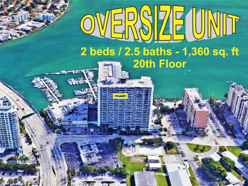 7601 E Treasure Dr Oversize-2, North Bay Village, FL, 33141