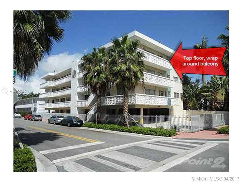 For Sale 900   Euclid Av #17 Miami Beach  FL 33139 - 900 Euclid Ave Inc