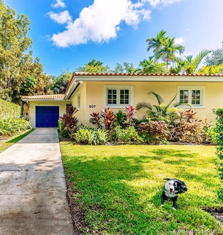 807  Santiago St, Coral Gables in Miami-Dade County, FL 33134 Home for Sale