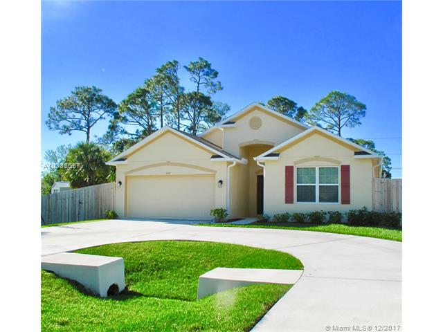 PORT ST LUCIE SECTION 25 HOMES