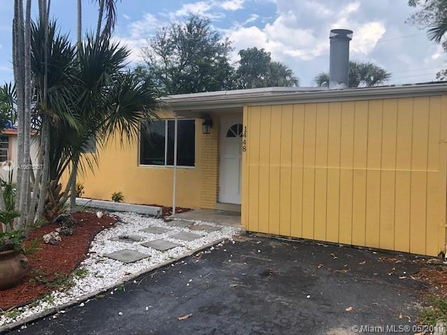 1448 NE 28th St,  Pompano Beach, FL