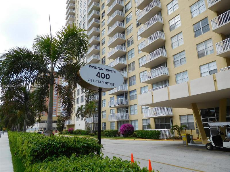 For Sale 231   174Th St #514 Sunny Isles Beach  FL 33160 - Winston Towers 400