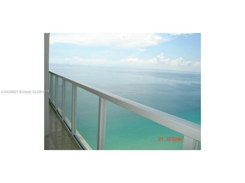 16699 COLLINS AV.  Unit 3601, Sunny Isles Beach, FL 33160