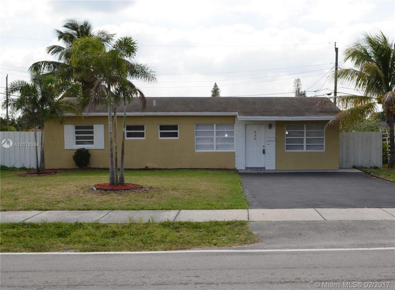 Oakland Park Single Family A10178294