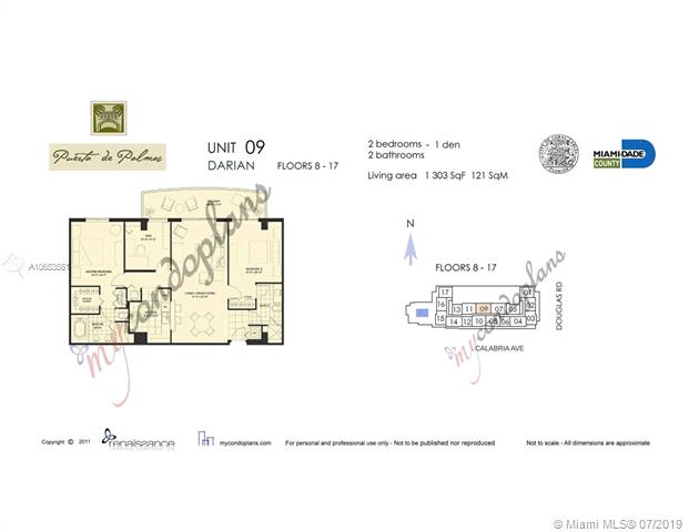 888 S Douglas Rd 1009, Coral Gables, FL, 33134