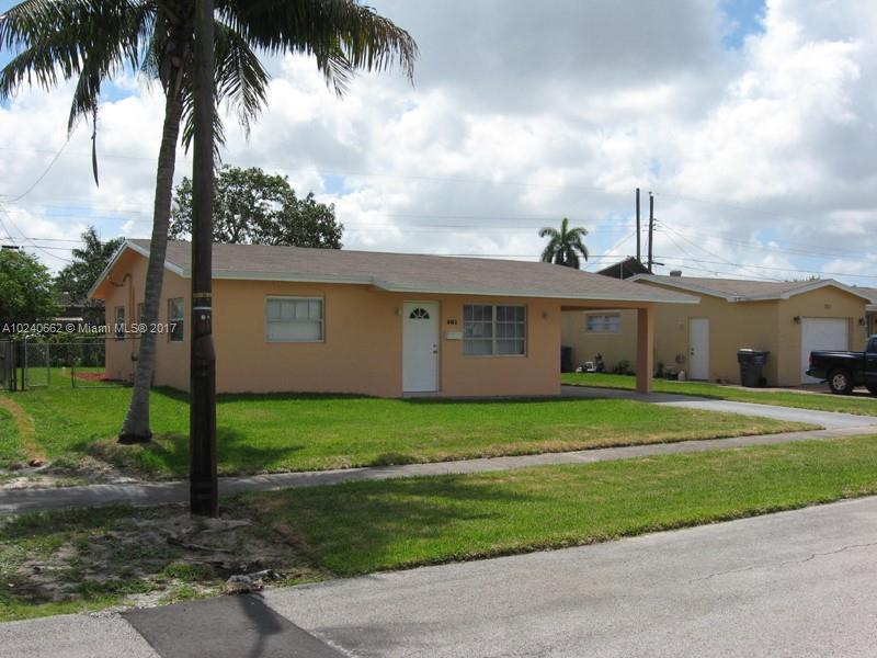 7504 Hayes St , Hollywood, FL 33024